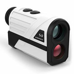 WOSPORTS Golf Rangefinder, 650 Yards Laser Distance Finder w