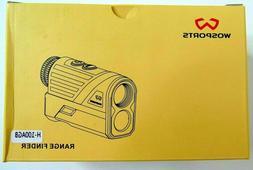 Wosports Golf Rangefinder, 650 Yards Laser Range Finder with