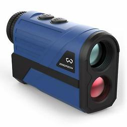 Wosports Golf Rangefinder 650 Yards Laser Range Finder with