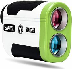 Golf Rangefinder 6X Laser Range Finder 1500 Yards with Slope