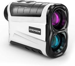 WOSPORTS Golf Rangefinder, 800 Yards Laser Range Finder with