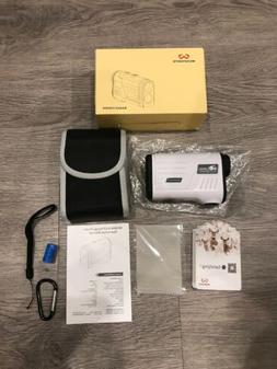 Wosports GolF Rangefinder W600A. Laser Range Finder With Slo