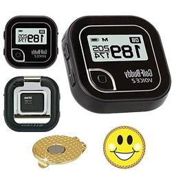 AMBA7 GolfBuddy Voice 2 Golf GPS/Rangefinder Bundle with Mag