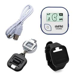 GolfBuddy Voice 2 Golf GPS  with Wristband and Retractable C