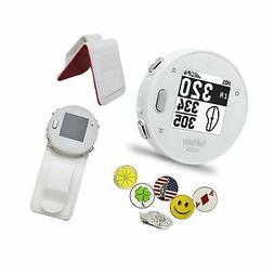 GolfBuddy Voice X GPS/Rangefinder Bundle with Belt Clip, 5 B