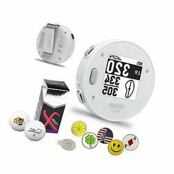 GolfBuddy Voice X GPS/Rangefinder Bundle with 5 Ball Markers
