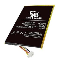 GPS0320MG051, KAMHUA Battery For SKYGOLF SkyCaddie Breeze SG