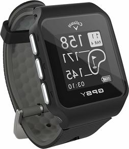 Callaway GPSy Golf Black GPS Watch - Rated Best Range Finder