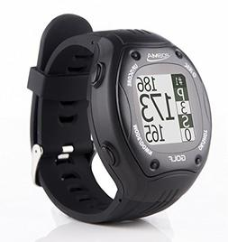 POSMA GT1Plus Golf Trainer GPS Golf Watch Range Finder, Prel