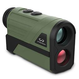 Wosports Hunting Range Finder, Upgraded Battery Cover - Lase