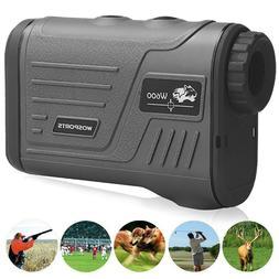 Hunting Range Finder Laser Golf Rangefinder 5-700 Yard w/ Fl