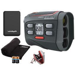 Bushnell Hybrid Golf Laser GPS/Rangefinder | +Microfiber Clo