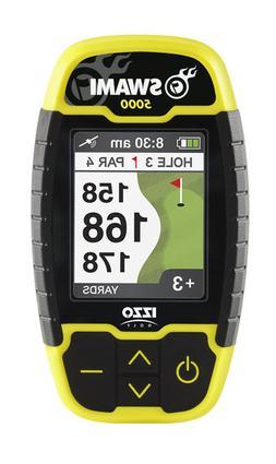 IZZO Swami 5000 Handheld Golf GPS Rangefinder with Scorecard