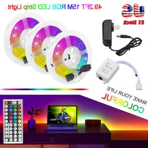 15M RGB 3528 LED 44 Remote IR Controller