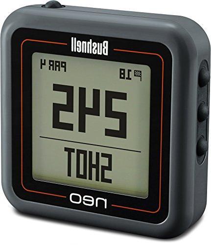 Bushnell 368221 Ghost GPS/Rangefinder, Charcoal