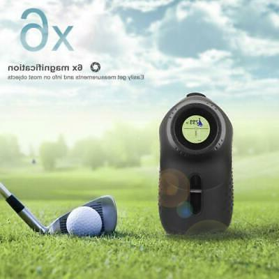 600M 6X Golf Range Finder Yardage US