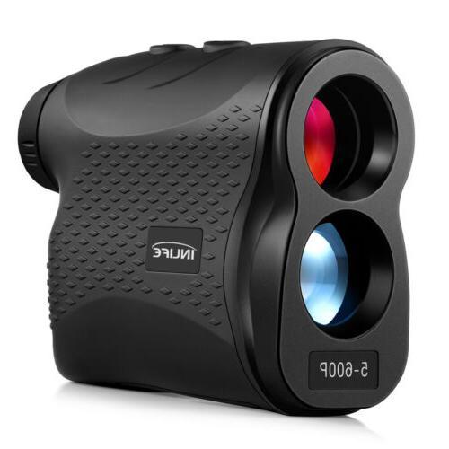 Laser Rangefinder 600m Distance Meter Golf Range Mode IP54