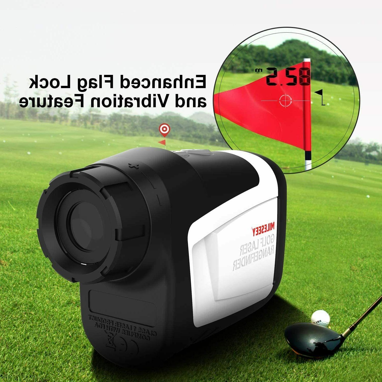 Mileseey Golf Laser Vibration