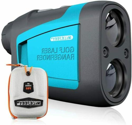650 yards golf laser rangefinder with slope