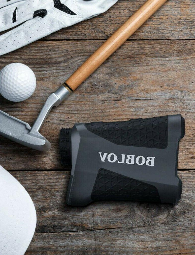 BOBLOV 650 Yards Range Finder Flaglocking Rangefinder+Case