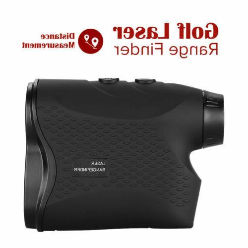 600M Digital Laser Range Finder w Slope Waterproof