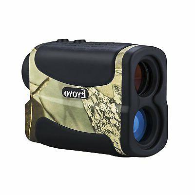 EYOYO Camo Rangefinder Range Finder Scope 6x25 700m/yards