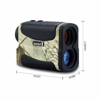 EYOYO Laser Finder Speed Fog Distance Telescope