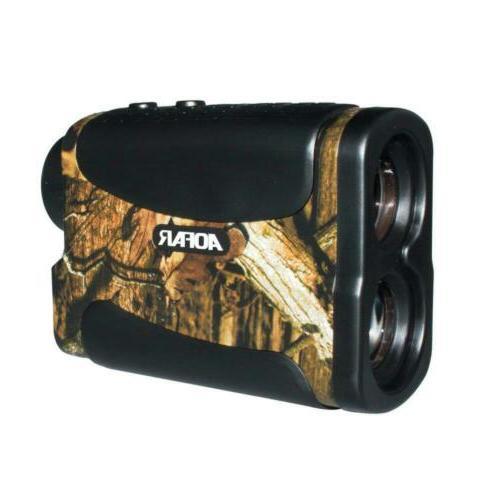 700 yards 6x 25mm laser rangefinder