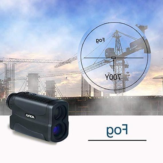 AOFAR Yards Laser Range Finder Hunting Black Measurement