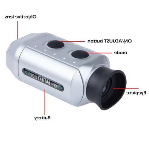 7x Zoom Digital Pocket Golf Range Magnification Distance