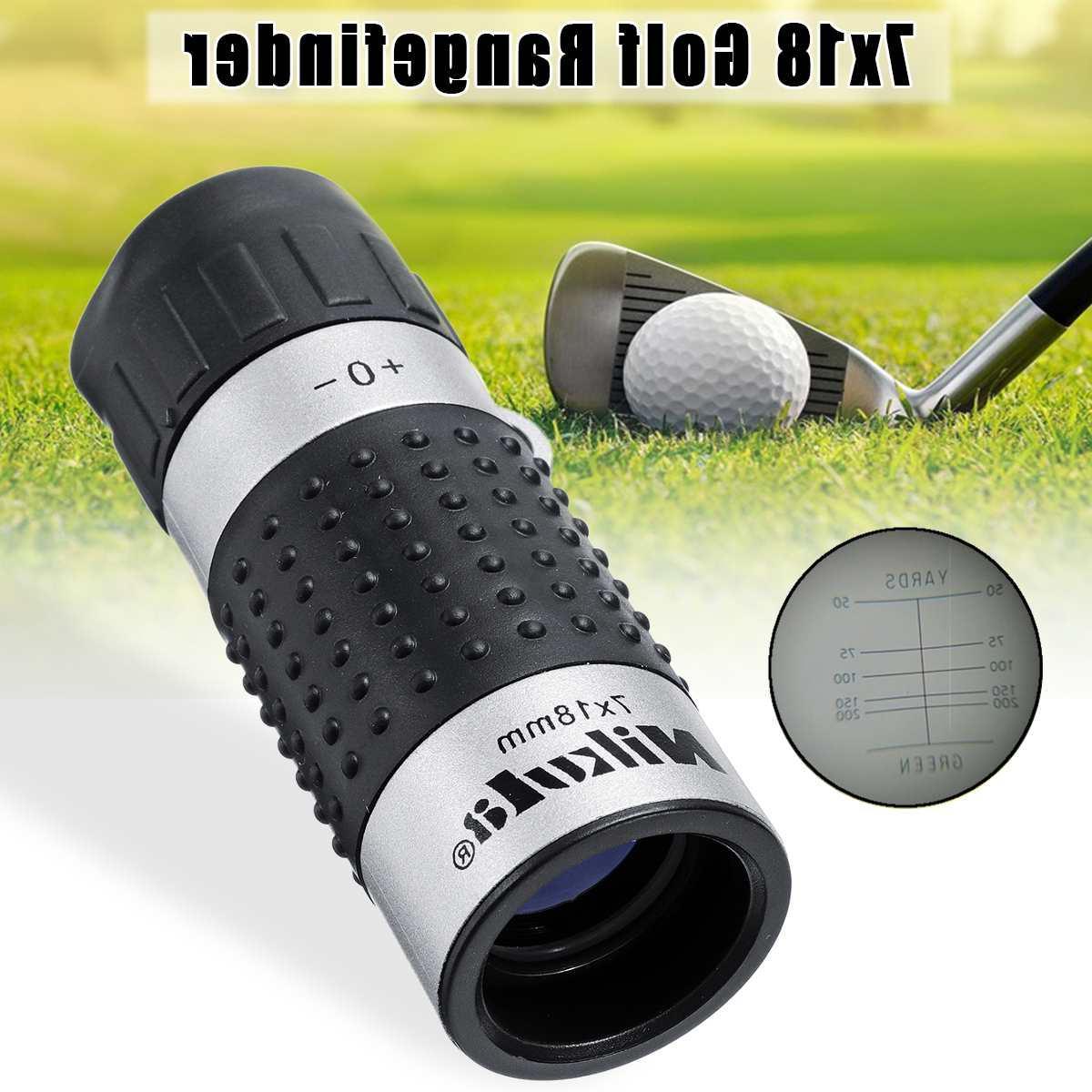 7x18 163m/1000m <font><b>Golf</b></font> Rangefinder Distance Meter <font><b>Finder</b></font> Binocular <font><b>Range</b></font> Surveillance Races