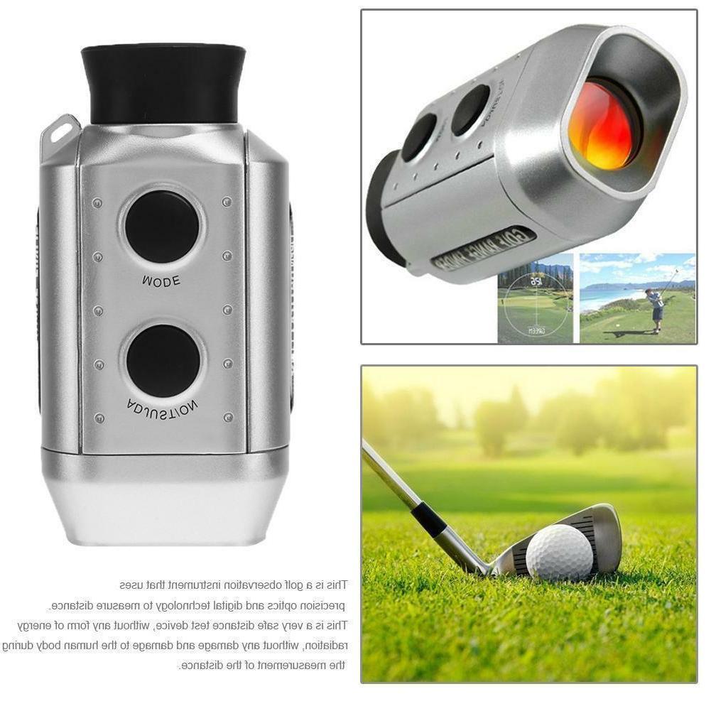 7x18 golf monocular golf electronic rangefinder golf
