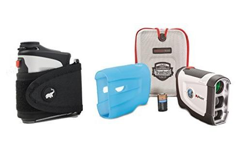 Bushnell Tour Patriot Rangefinder Bundle | Protective and CR2