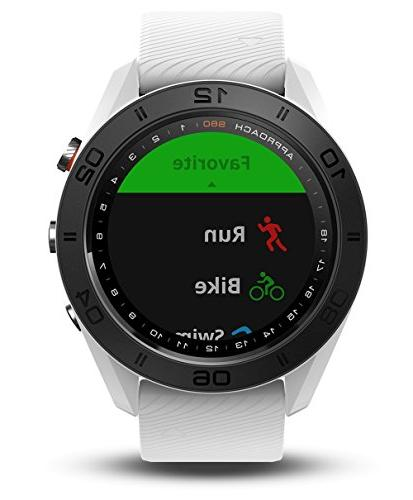 Garmin Approach GPS with Screen Protector Bundle Golf GPS, Tempered Screen Protector USB