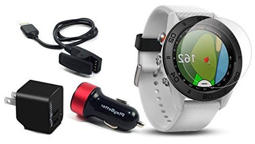 Garmin Approach S60  Golf GPS Watch with Screen Protector &