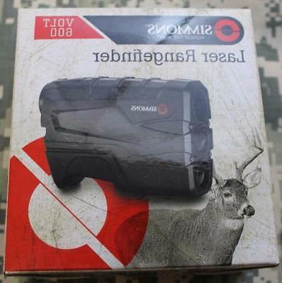 Simmons 801600 4X20V 600 Black Vertical, Single Button