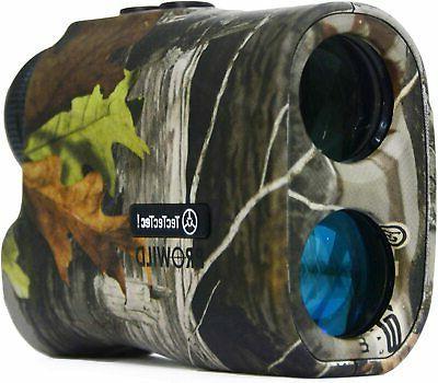 TecTecTec ProWild Hunting Rangefinder - 6x24 Laser Range Fin