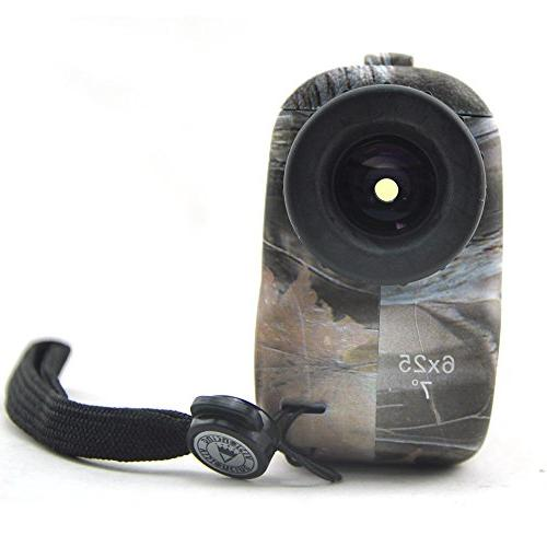 Visionking Range Finder 6x25 Laser Rangefinder for Rain Golf