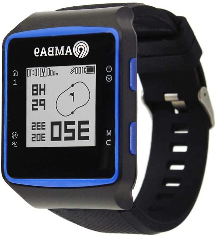 Amba9 Gps Golf Watch - Rangefinder With Preloaded Courses, S