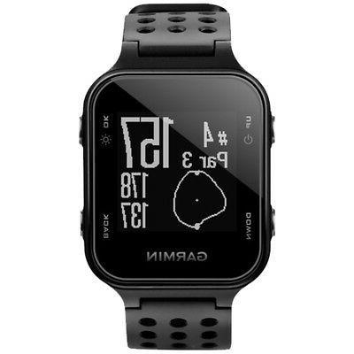 Garmin S20 GPS Watch Black-