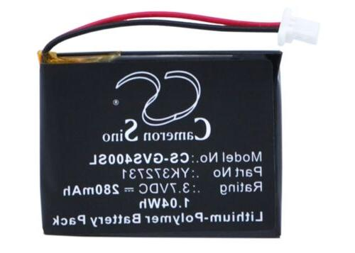 Battery for Golf Buddy Voice GPS Rangefinder, VS4 GPS Rangef