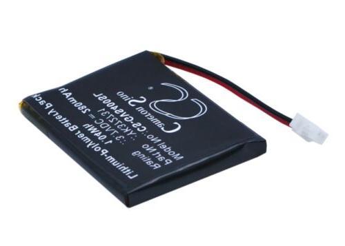 280mAh Battery for Golf Buddy Voice GPS Rangefinder, VS4 Voi