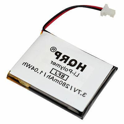 HQRP Battery compatible with Panasonic KX-TG3024S / KX-TG303