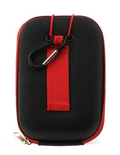 Navitech Eva Case/Cover for The Rangemaster crf GPS Rangefinder with Caribina