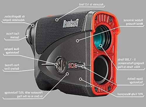 Bushnell Laser | Includes Rangefinder with Carrying Case, PlayBetter Microfiber Towel Batteries