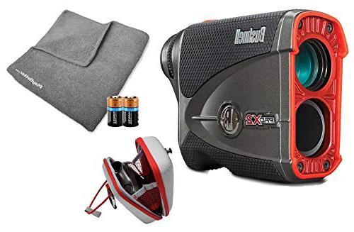 bushnell golf laser rangefinder includes