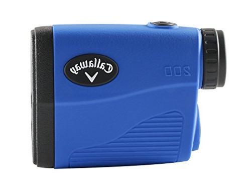 Callaway Golf Golf Laser Rangefinder, PlayBetter Microfiber Two CR2 Batteries
