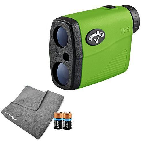 callaway 250 golf rangefinder includes