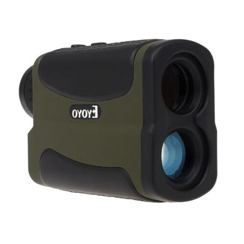 Top Clear Golf laser range finder 6x22 700m/yards Binoculars
