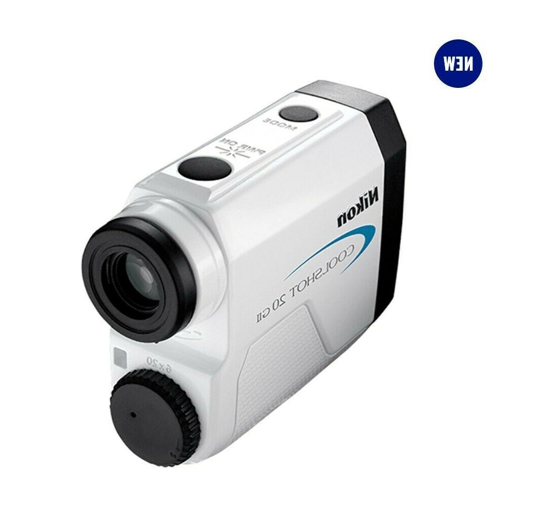 Nikon Coolshot 20 Golf - White